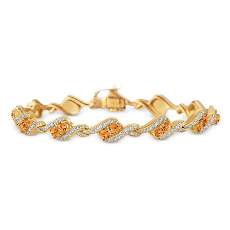 Birthstone  Diamond Bracelet 6321 001 7 11