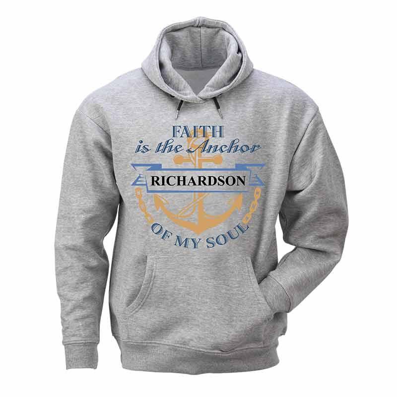 Faith is My Anchor Personalized Hoodie 6298 001 6 1