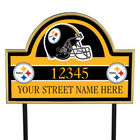 NFL Pride Personalized Address Plaques 5463 0405 a steelers