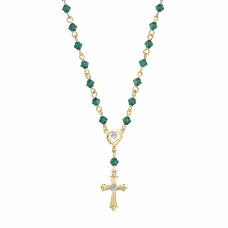 My Devotion Birthstone Diamond Necklace 6365 001 4 5