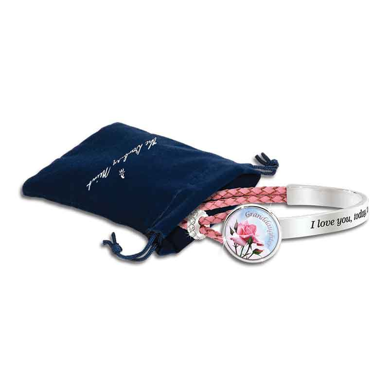 Today Tomorrow Forever Granddaughter Leather Bracelet 6258 001 4 3