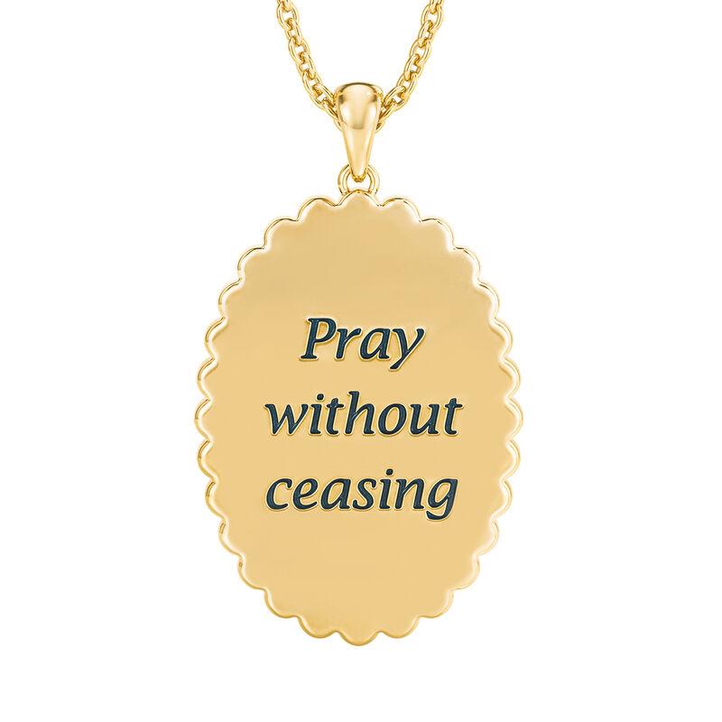 Power of Prayer Pendant 10181 0018 c back