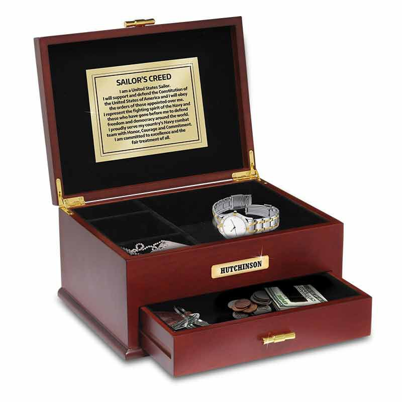 The Personalized US Navy Valet Box 1711 001 6 1