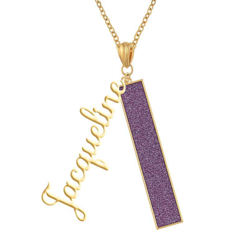Personalized Birthstone Bar Necklace 6800 001 7 2