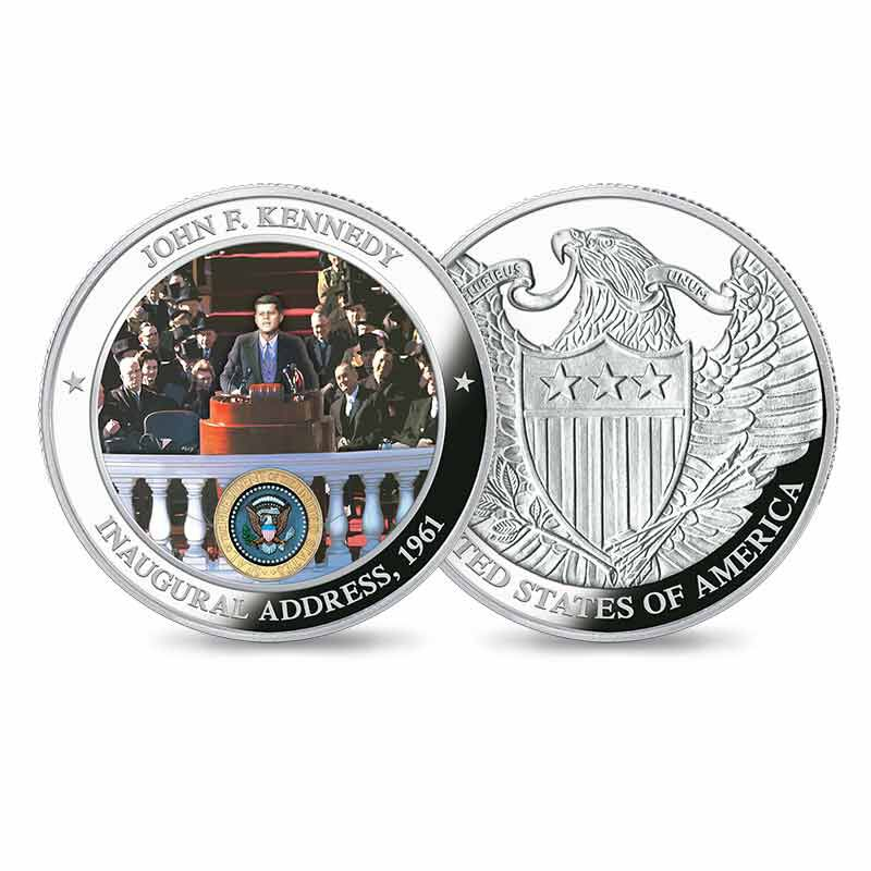 The John F Kennedy Silver Commemoratives Collection 6139 001 9 4