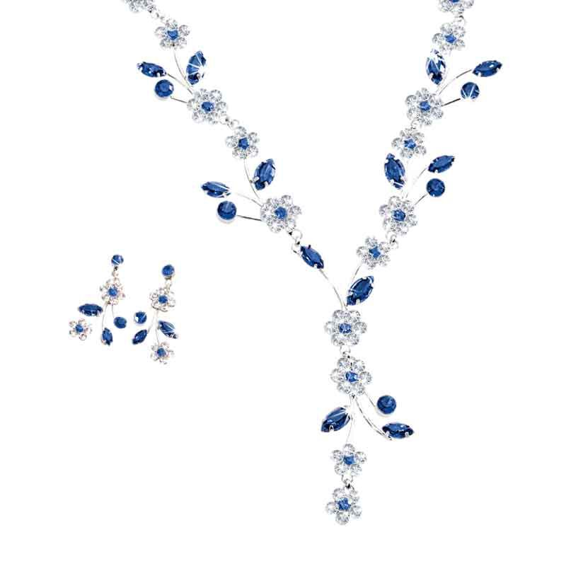 Birthstone Blooms Crystal Necklace 1398 001 6 9