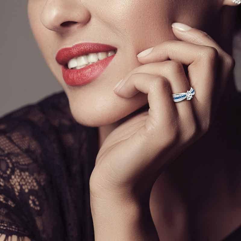 Herkimer Diamond Ring 4905 001 6 5