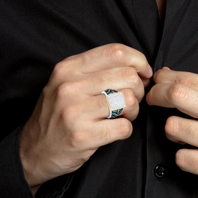 Diamond Knight Mens Ring 10158 0017 m model