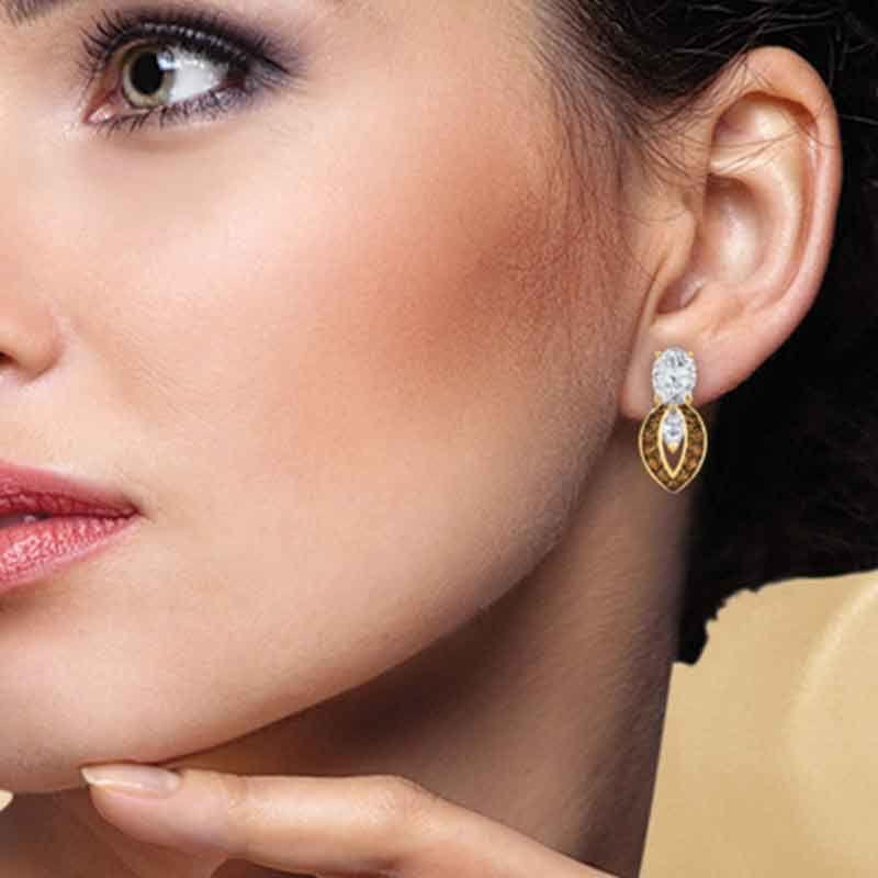 Mocha Splendor Diamonisse Earrings 2111 013 5 3
