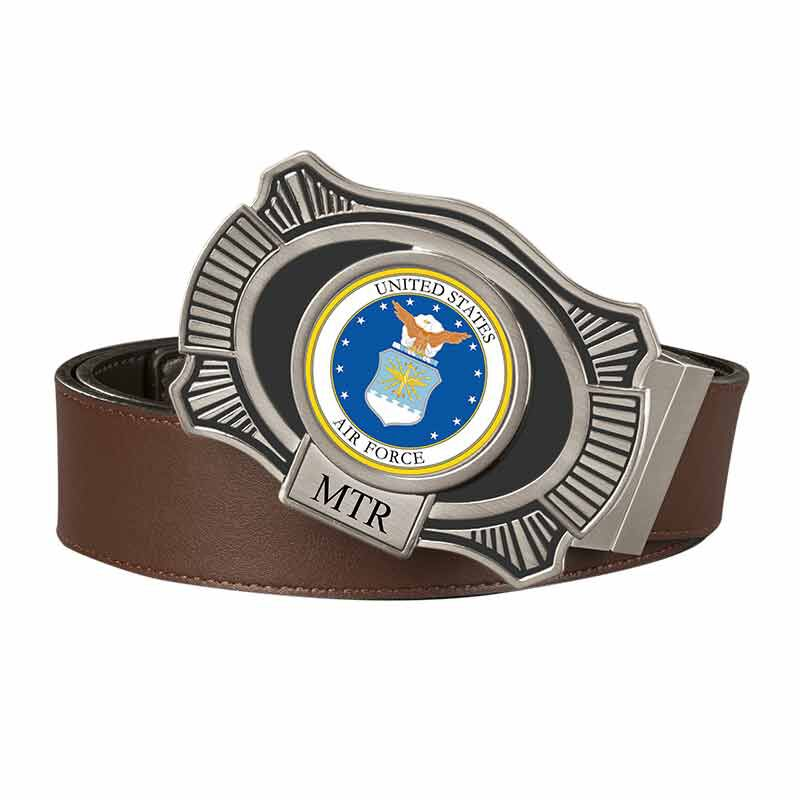 The US Air Force Leather Belt 2398 006 3 1