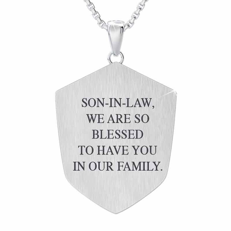 Son in Law Shield Pendant 6203 001 0 2