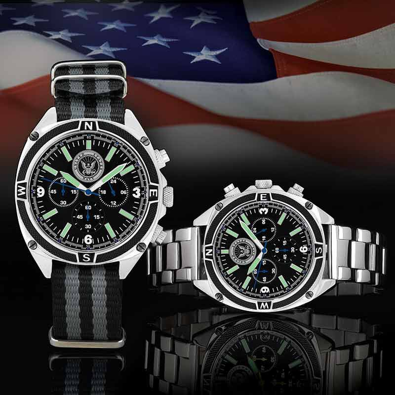 The US Navy Chronograph Watch 4931 001 4 3