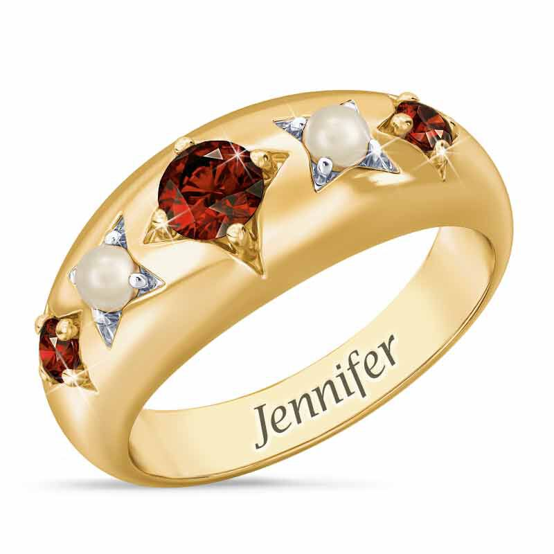 Royal Radiance Personalized Birthstone Ring 1906 001 1 1