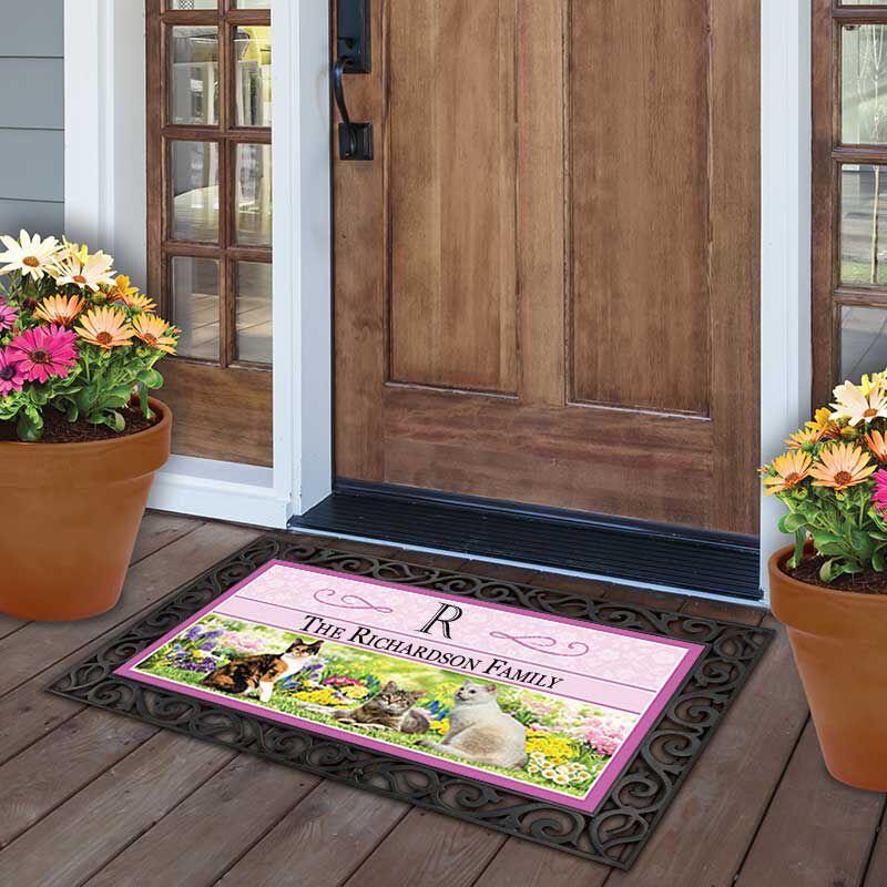 The Fabulous Felines Seasonal Welcome Mats 6199 001 6 5
