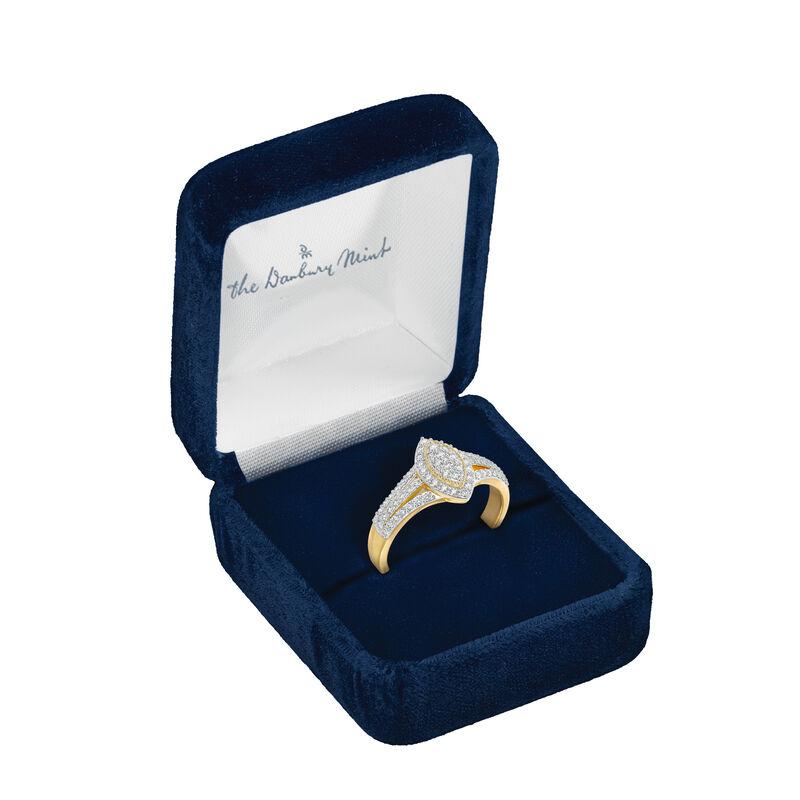 Marquise Dream Diamond Ring 6714 0012 g open display