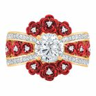 A Bouquet of Roses Diamond Ring 6272 001 6 3