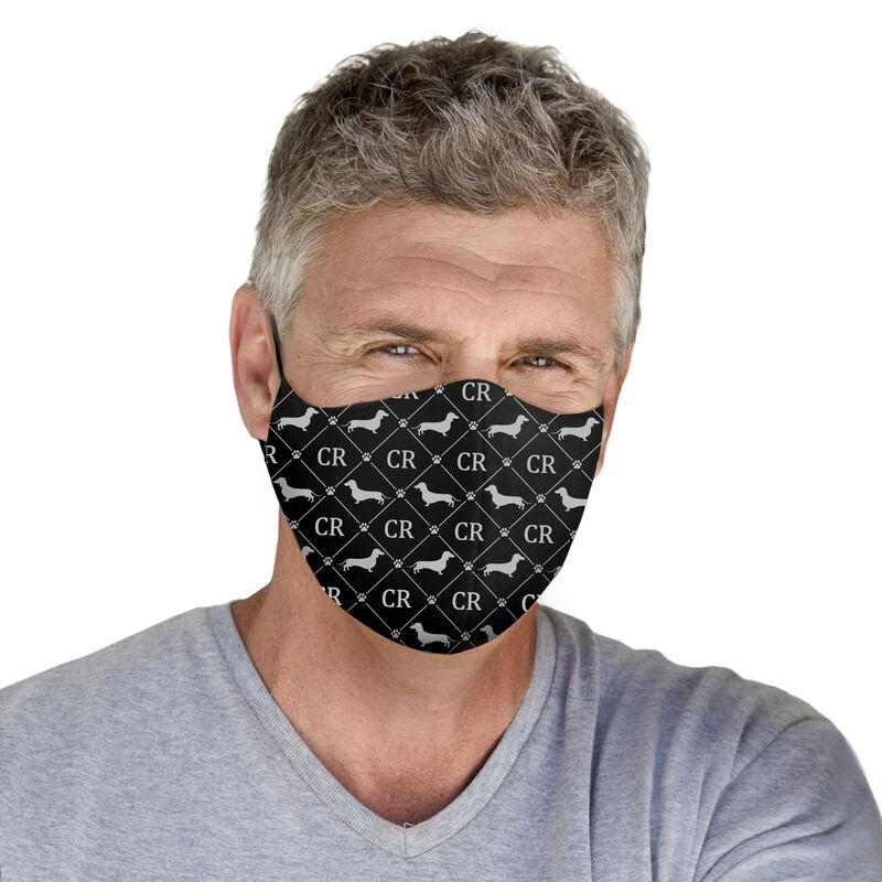 Dog Personalized Face Mask Set 10083 0017 c model