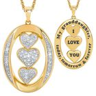 Today Tomorrow Forever Granddaughter Pendant 6205 001 8 1