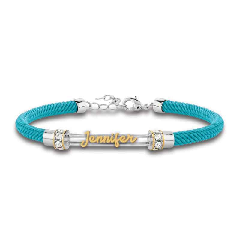 Personalized Birthstone Rope Bracelet 4947 005 7 5