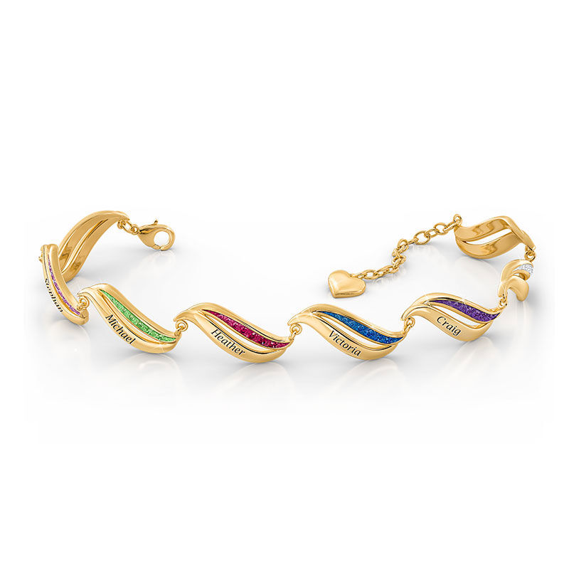 Birthstone Wave Bracelet 2456 006 2 5