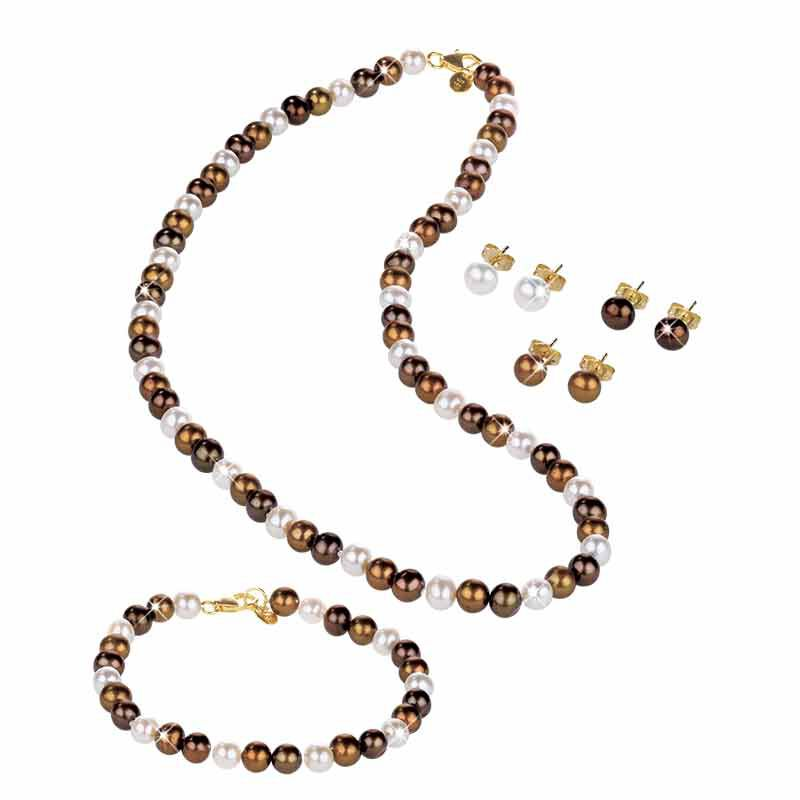 The Mocha Pearl Jewelry Collection 4992 001 0 1