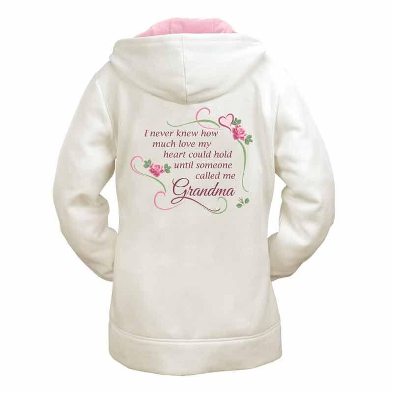 Grandmas Love Zip Up Hoodie 1652 002 5 2
