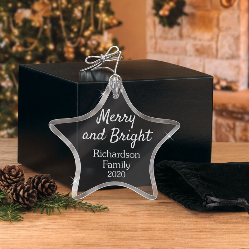 The Personalized Glass Ornament Set 10082 0018 m room