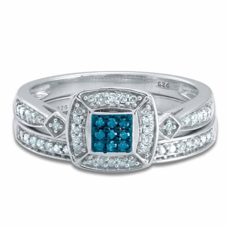 Blue Diamond Bridal Set 4729 001 0 1