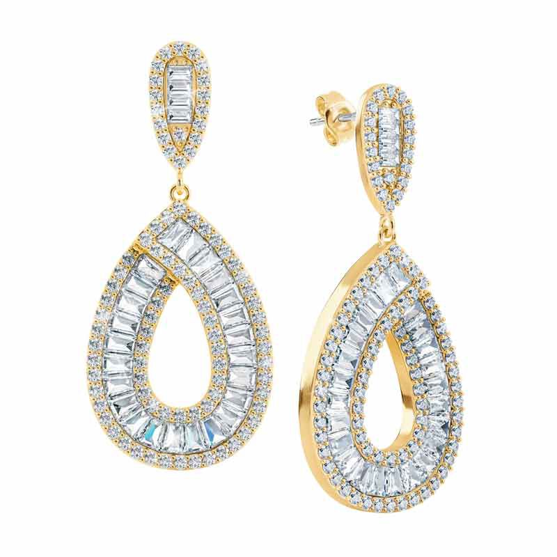 Golden Delights Teardrop Earrings 6106 001 8 1