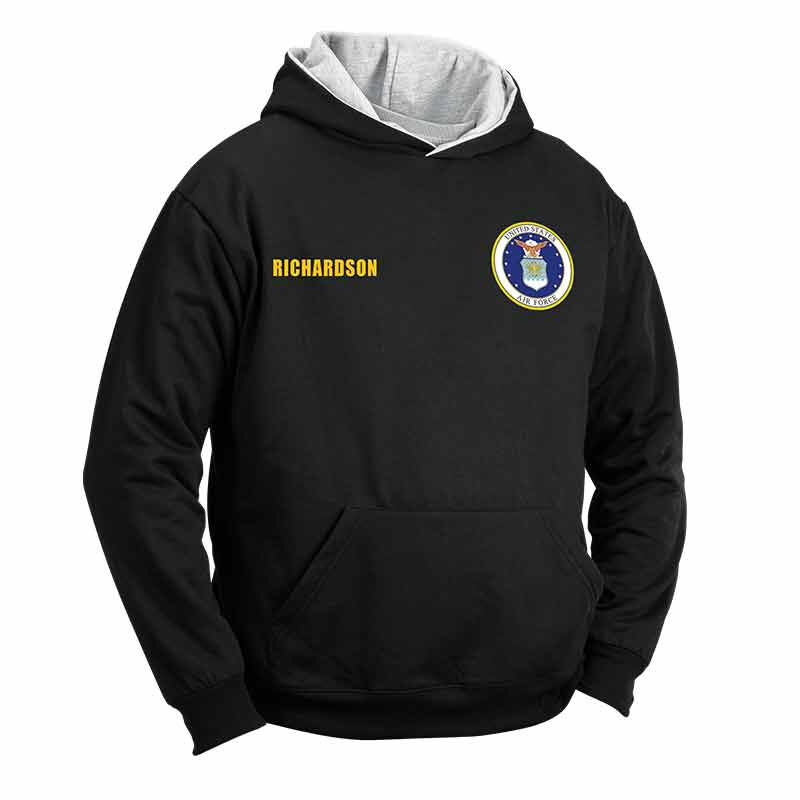 The Personalized Reversible US Air Force Hoodie 2148 002 5 1