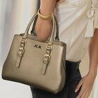 The Sloane Metallic Handbag Set 5519 0011 m modelwithbag