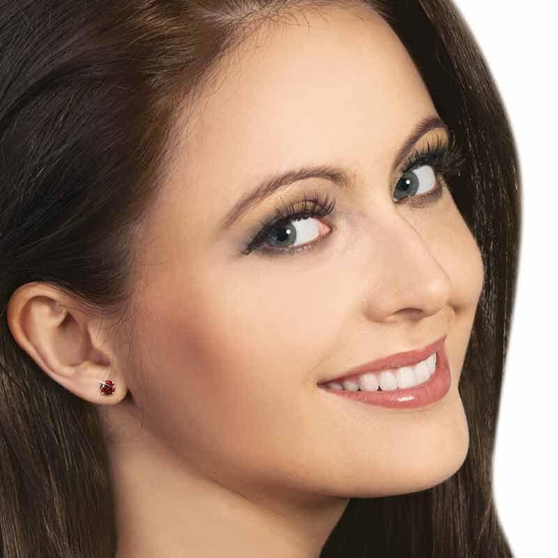 Birthstone Stud Earrings 3359 013 4 15