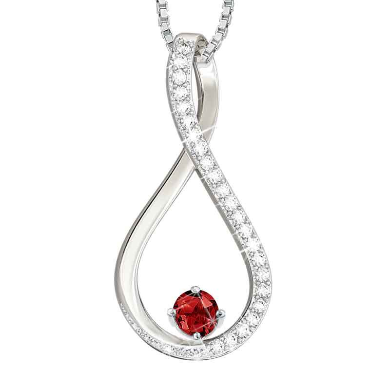 The Birthstone  Diamond Infinity Pendant 5200 001 5 1