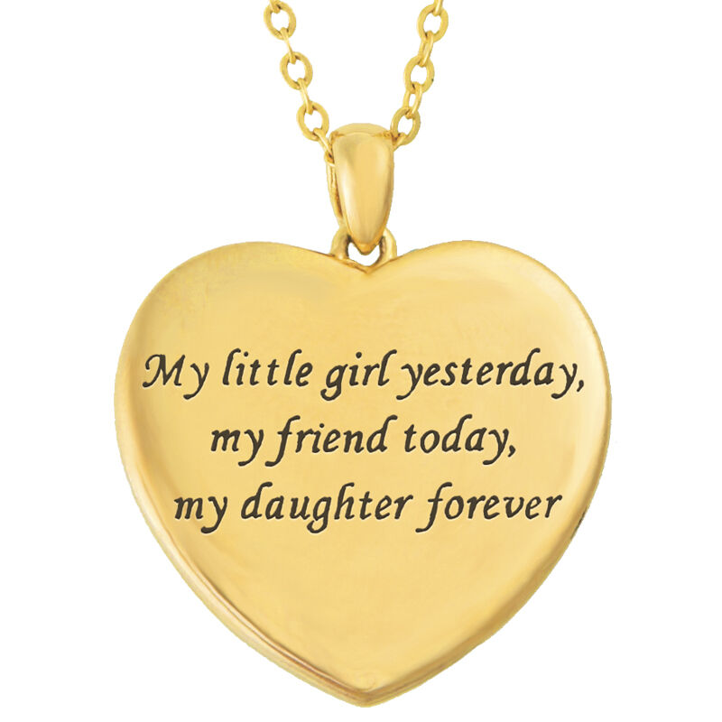 My Daughter Forever Personalized Diamond Pendant 9824 001 3 2