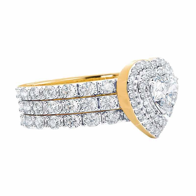 Love Everlasting Stackable Ring Set 2449 001 3 3