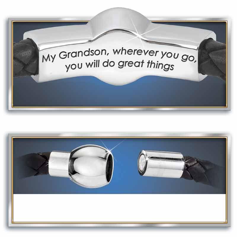 Grandson Leather Bracelet 5702 001 8 2
