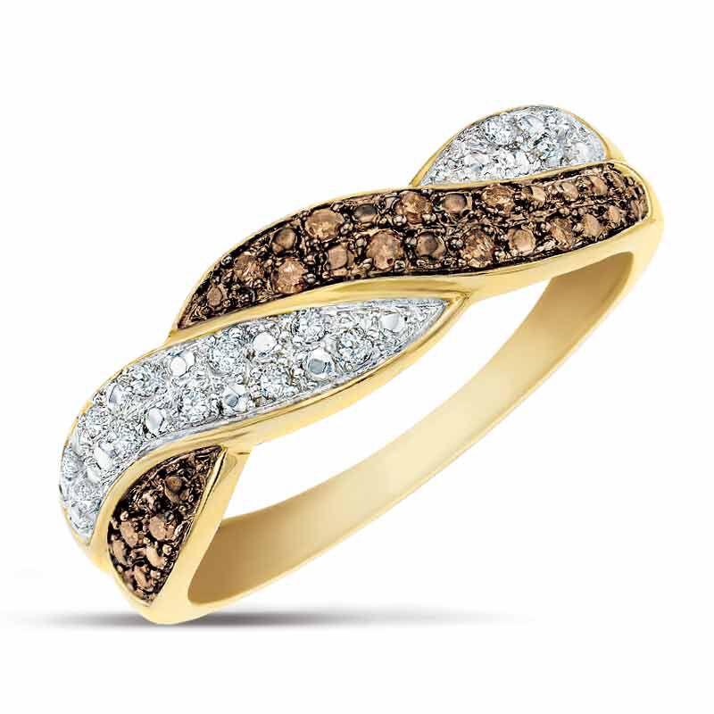 Mocha Swirl Diamond Ring 2824 001 8 1