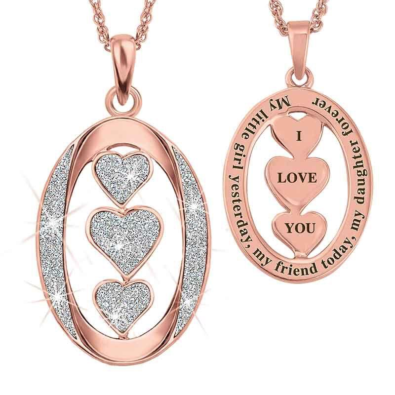 My Daughter I Love You Diamond Pendant 1880 001 1 1