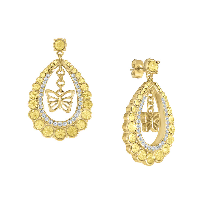 Monthly Crystal Earrings 6881 0019 c june