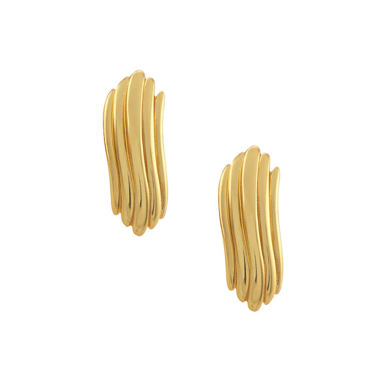 Golden Essentials Earrings Collection 10171 0010 f earring five