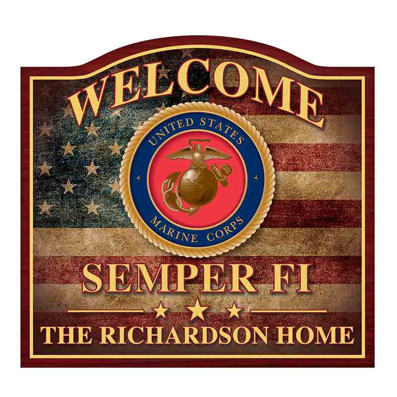 Marines Welcome Sign 1475 001 2 1