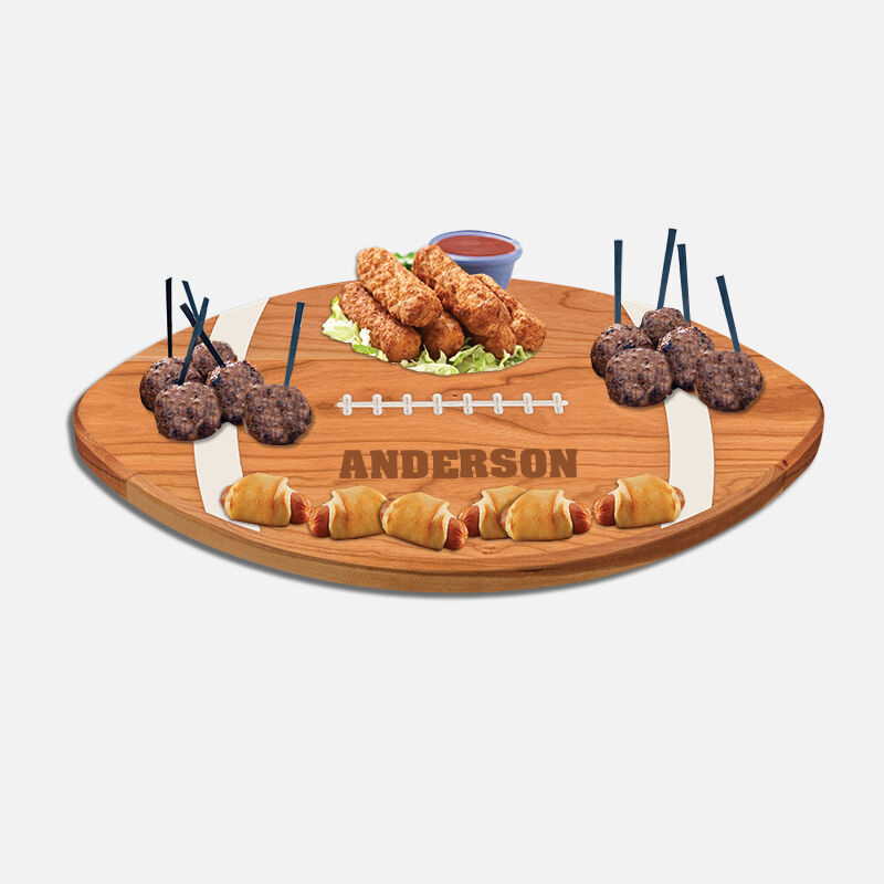 The Personalized Football Serving Board 5610 0027 c apps