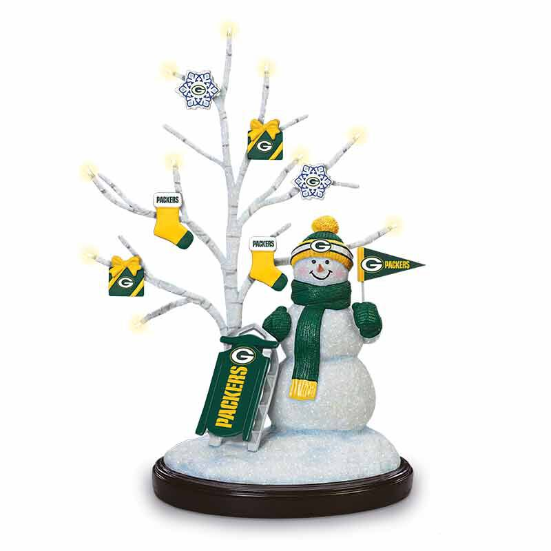 The Packers Snowman 1322 001 7 1