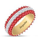 Birthstone Beauty Eternity Ring 6911 0013 g july