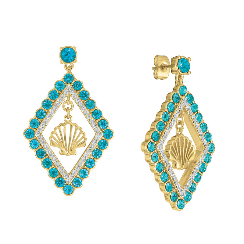 Monthly Crystal Earrings 6881 0019 e august