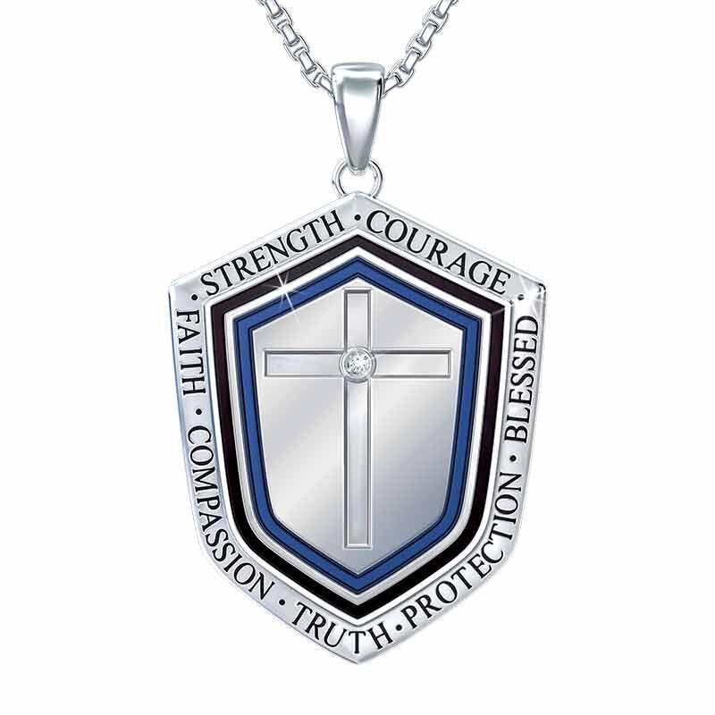 Son in Law Shield Pendant 6203 001 0 1