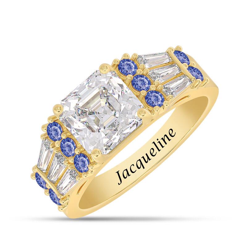 Birthstone Statement Ring 10142 0016 i september