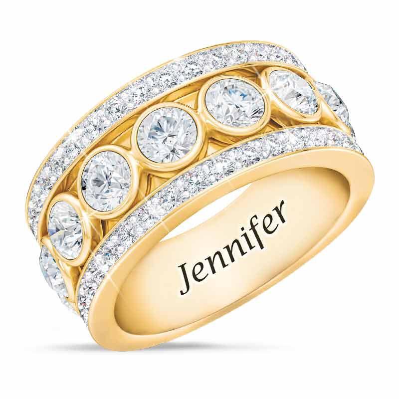 Birthstone Spinner Ring 1522 001 5 4