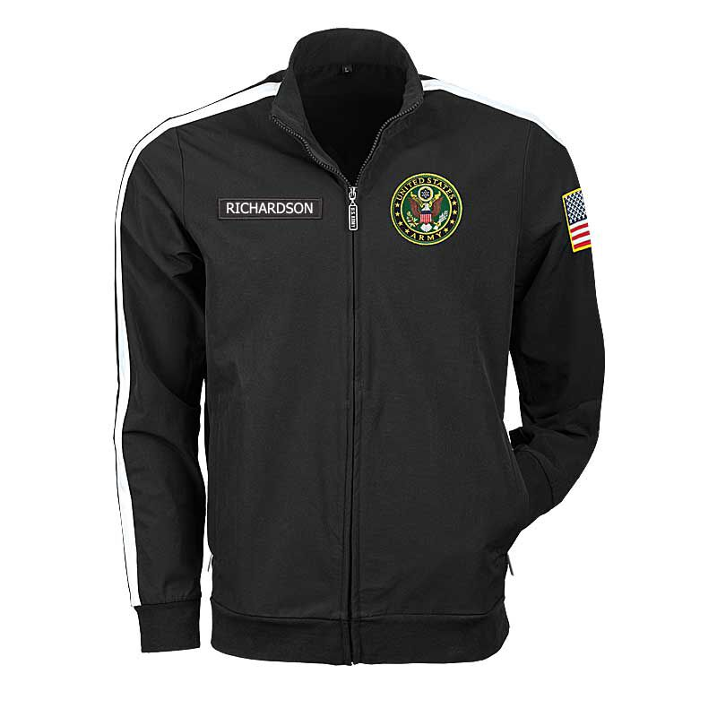 The Personalized US Army Track Jacket 6609 001 0 1
