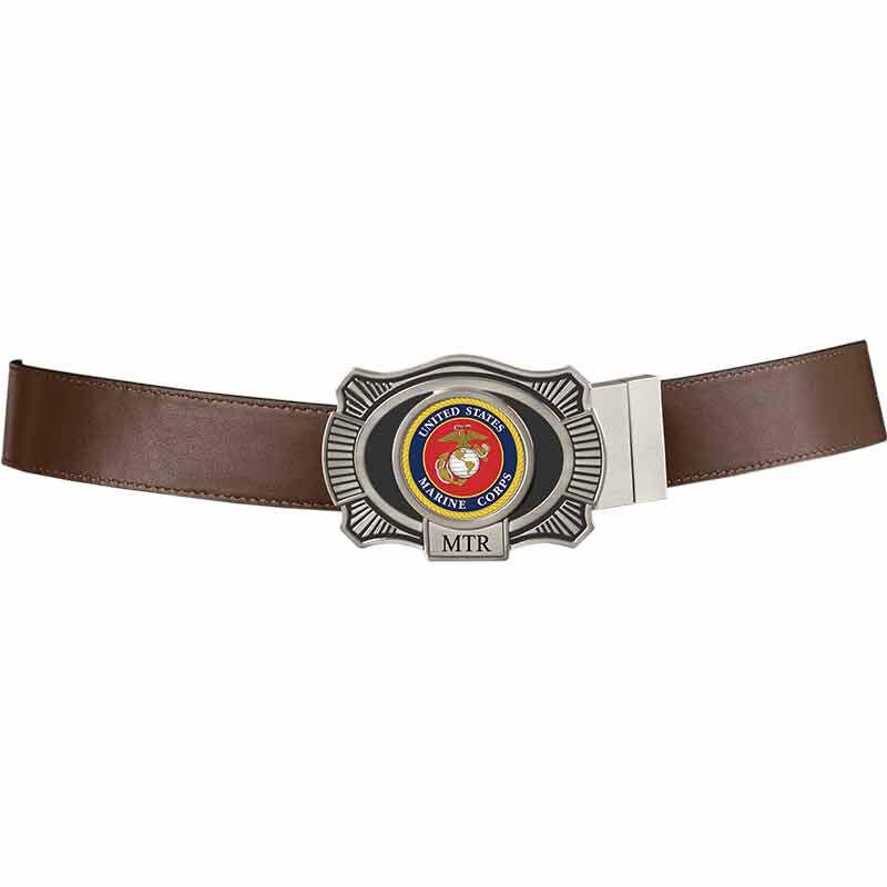 The US Marines Leather Belt 2398 005 5 4